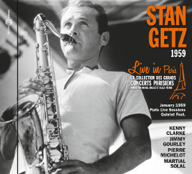 Cover Stan Getz Live Paris