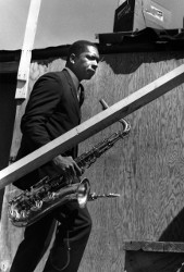 John Coltrane Newport Jazz Festival 1960 ©William Claxton